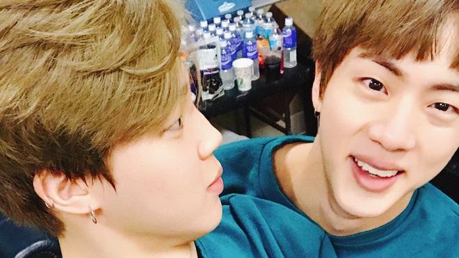 Jin BTS ra dáng anh cả mắng Jimin khiến dân tình cười ầm lên