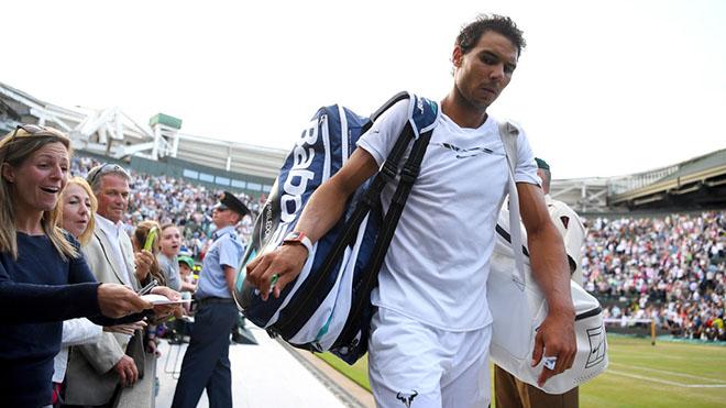 Thất bại ở Wimbledon càng làm Nadal mạnh mẽ hơn