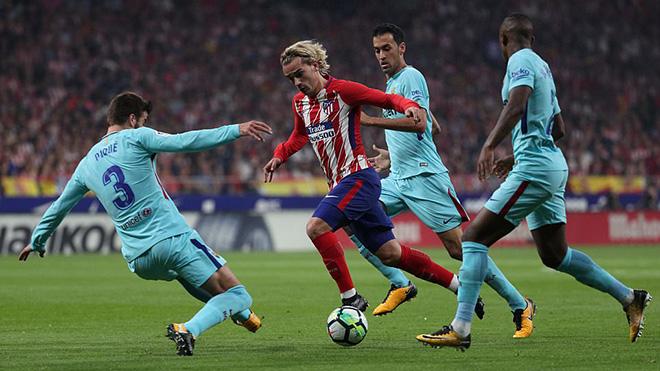 ĐIỂM NHẤN Atletico 1-1 Barcelona: Messi vẫn chơi tốt, Suarez hồi sinh, Simeone tiếc nuối