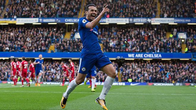 Pedro lập siêu phẩm cho Chelsea, được gọi là... thánh cứa lòng