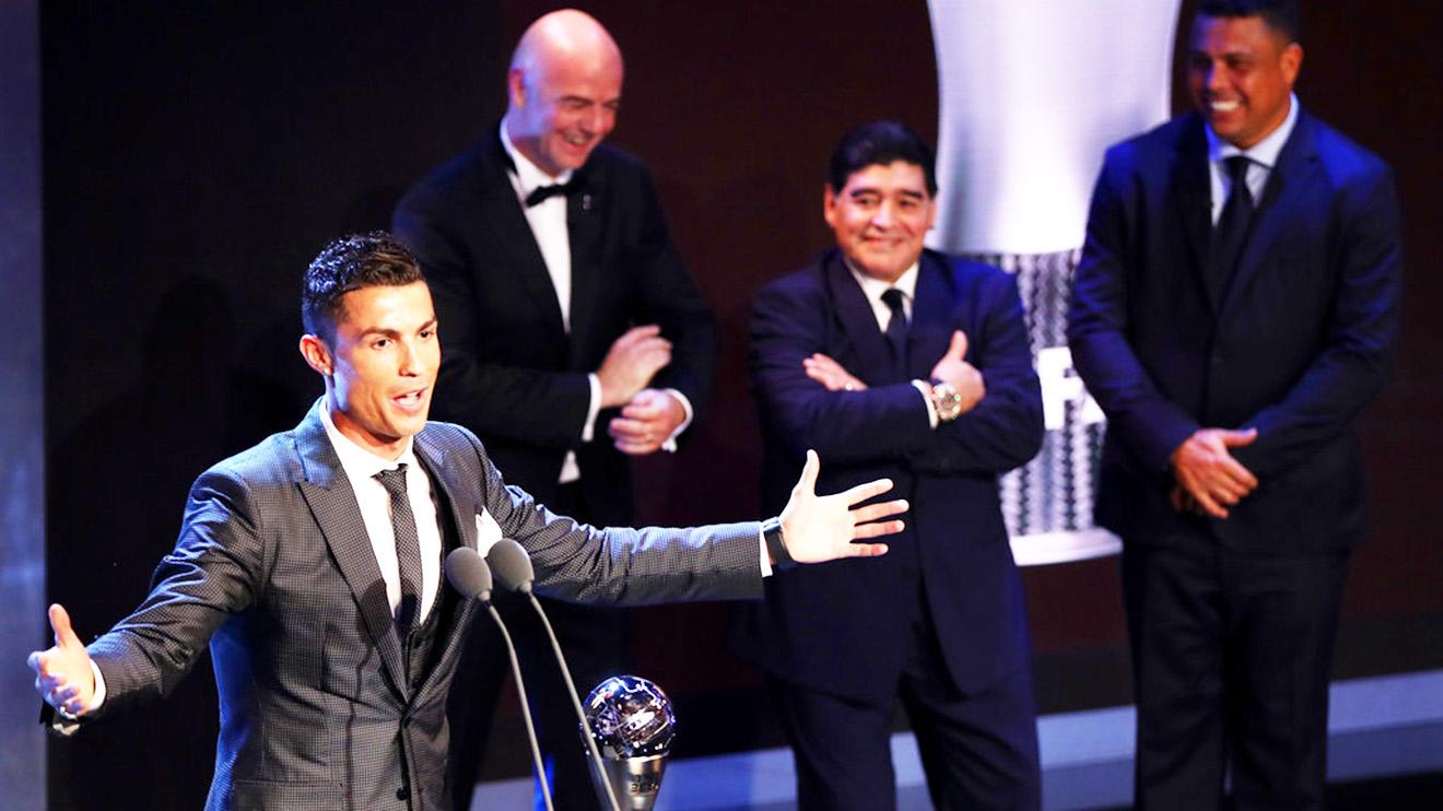 Ronaldo giành giải The Best: Những gì hay nhất vẫn còn ở phía trước