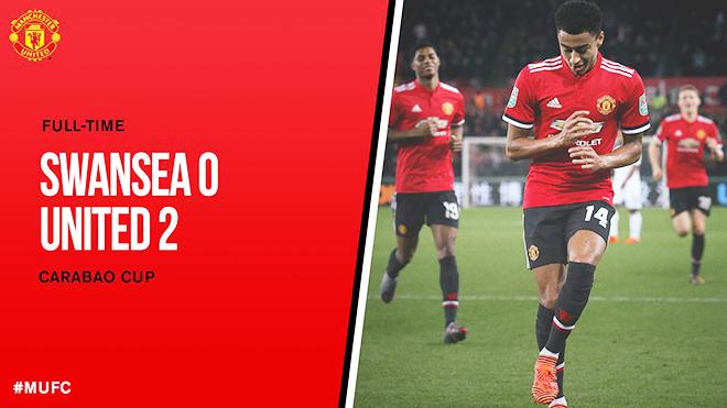 ĐIỂM NHẤN Swansea 0-2 M.U: Lingard rực sáng, Lindelof tạm giải tỏa áp lực, Mourinho có kế sách mới
