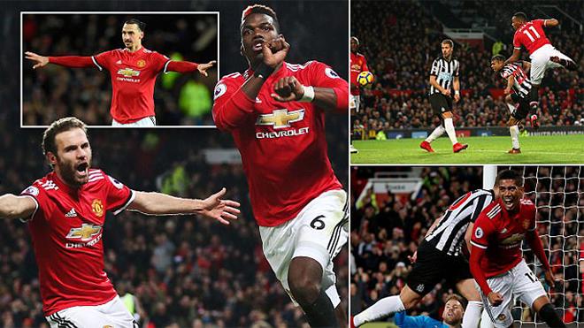 Với Mourinho, Old Trafford lại là điểm tựa vững chắc của M.U