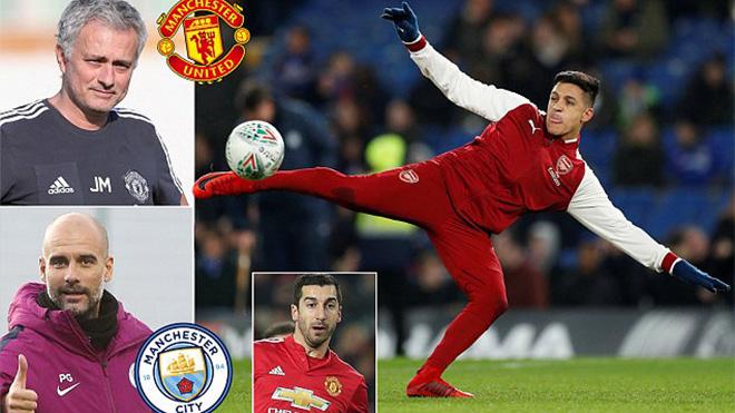 M.U  cực khó 'cướp' Alexis Sanchez trước mũi Man City