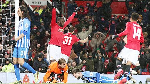 ĐIỂM NHẤN M.U 2-0 Brighton: Romero xuất thần, Lukaku, Matic xứng đáng được Mourinho tin tưởng