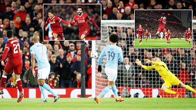 Video bàn thắng và highlights Liverpool 3-0 Man City: Salah bùng nổ, Klopp huỷ diệt Guardiola