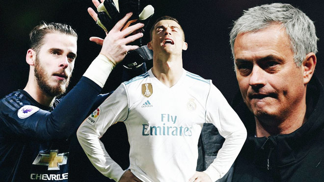 TIN HOT M.U 15/4: M.U tính đổi De Gea lấy Ronaldo, cướp Fred trên tay Man City