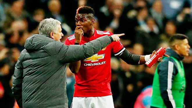 Pogba bất ngờ lên tiếng về mối quan hệ bị cho là 'không tốt đẹp' với Mourinho