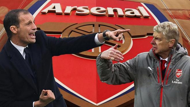Nếu thay Arsene Wenger, Max Allegri có thể mang lại gì cho Arsenal?