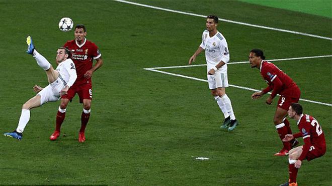 VIDEO: Bale lập siêu phẩm xe đạp chổng ngược khiến cả hàng thủ Liverpool ngỡ ngàng