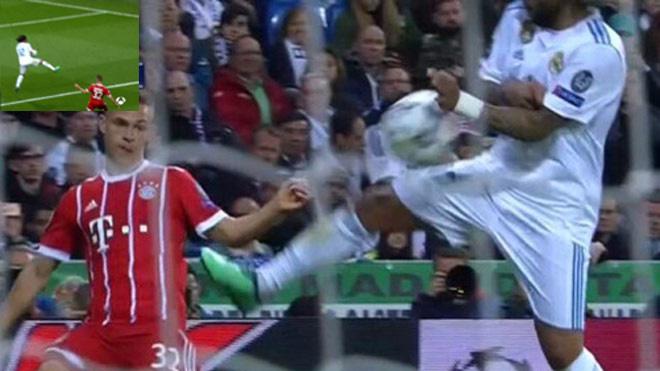 Real Madrid vào chung kết Champions League vì... quá đỏ