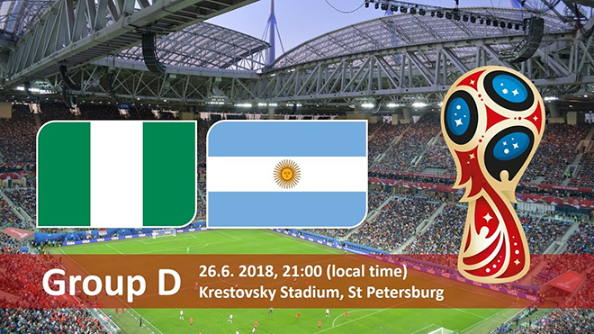 Cục diện Bảng D: Nigeria thắp hy vọng. Argentina chỉ còn một con đường