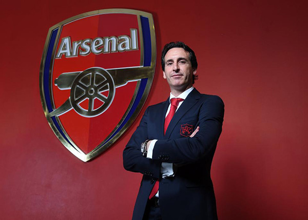 Arsenal, Atletico, ICC 2018, Unai Emery