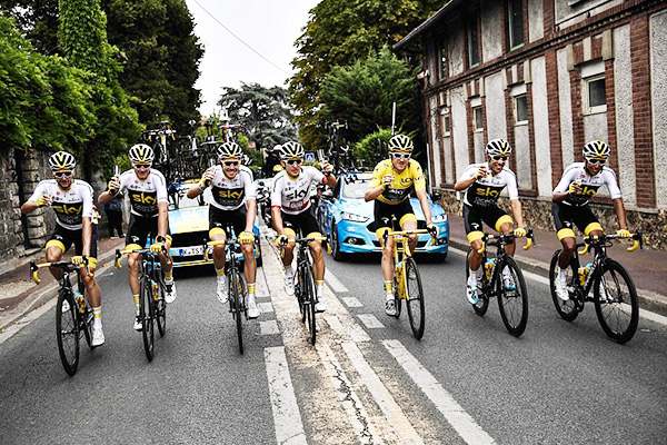 Tour de france, Geraint Thomas, Team Sky