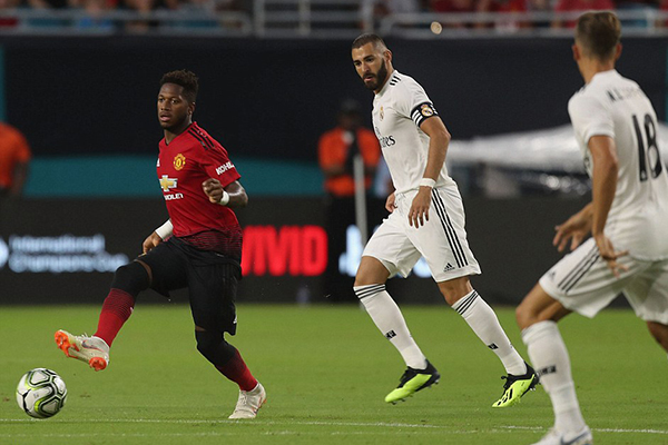 M.U vs Real Madrid, Sanchez, ICC 2018, Fred