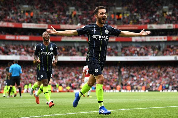 Arsenal, Man City, Bernardo Silva