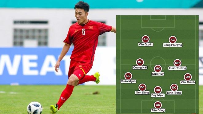 Đừng ngạc nhiên nếu Xuân Trường đá chính trước U23 Hàn Quốc