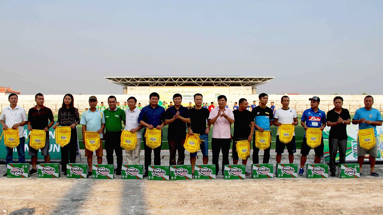 Giải Bóng đá Thanh Hóa – Cúp Huda 2018: Ngày hội của giới bóng đá phủi xứ Thanh