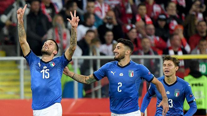 Video clip bàn thắng Ba Lan 0-1 Italy: Thoát xuống hạng vào phút bù giờ