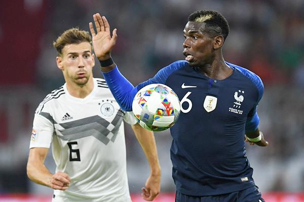 Lịch thi đấu bóng đá, kết quả UEFA Nations League, kết quả giao hữu quốc tế, kết quả Pháp vs Đức, kết quả Brazil vs Argentina, trực tiếp K+, BĐTV, VTVcab