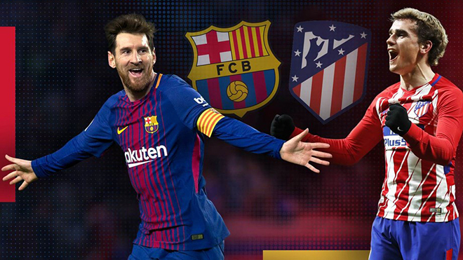 Giải vô địch Tây Ban Nha vòng 13: Soán ngôi ở đại chiến Atletico - Barca