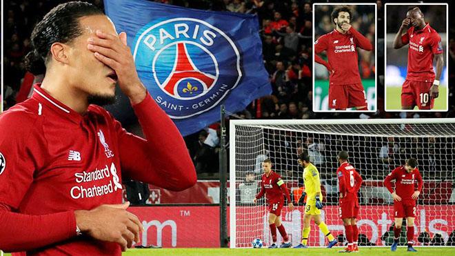 ĐIỂM NHẤN PSG 2-1 Liverpool: Đêm đáng quên của Van Dijk. 'Đinh ba SFM' vô hại