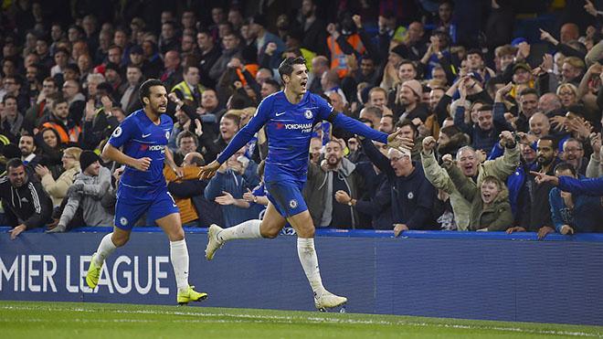 ĐIỂM NHẤN Chelsea 3-1 Crystal Palace: Morata tái sinh, hiệu ứng Hazard, kỉ lục của Sarri