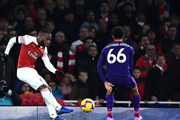 Kết quả Ngoại hạng Anh, Kết quả Arsenal vs Liverpool, Video Arsenal vs Liverpool, tỷ số Arsenal vs Liverpool, Arsenal vs Liverpool, Mane, Lacazette, Milner, Aubameyang