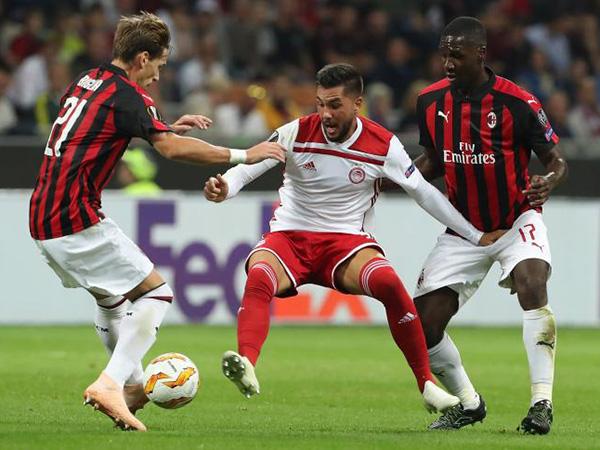 Kết quả bóng đá hôm nay, kết quả bóng đá, ket qua bong da, Kết quả Cúp C2, Kết quả Olympiakos vs Milan, trực tuyến, Olympiakos vs Milan, Milan bị loại, Chelsea, Arsenal