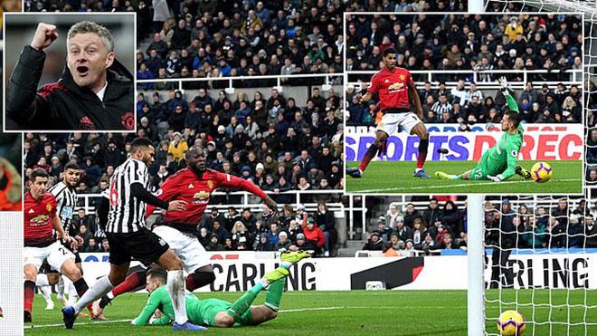 Video Newcastle 0-2 M.U: Rashford tỏa sáng, MU thắng tiếp, Solskjaer đi vào lịch sử