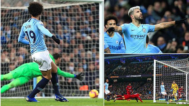 Ngoại hạng Anh vòng 21: Man City quật ngã Liverpool, cuộc đua vô địch hấp dẫn trở lại