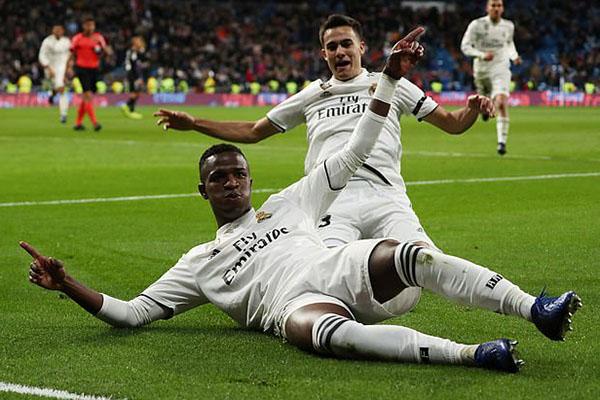 Kết quả Real Madrid vs Leganes, Kết quả bóng đá hôm nay, kết quả cúp Nhà Vua, video clip Real Madrid 3-0 Leganes, Sergio Ramos 100 bàn, Vinicius Jr, Benzema