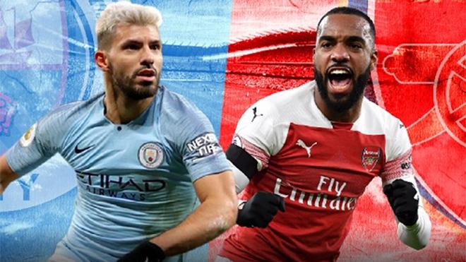 Ngoại hạng Anh vòng 25: M.U lọt vào Top 5, Man City đại chiến Arsenal