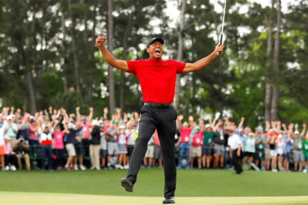 Tiger Woods vô địch The Masters, Tiger Woods giành Major, Tiger Woods hồi sinh, Kết quả The Masters 2019, The Masters 2019, golf, Tiger Woods, video The Masters 2019