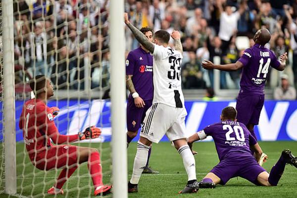 Kết quả bóng đá hôm nay, kết quả bóng đá, kết quả Juve vs Fiorentina, video Juve vs Fio, Juventus vô địch, Juve vô địch, Juventus ăn mừng, Ronaldo ăn mừng, bxh bóng đá Ý