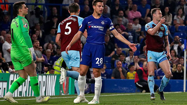 Cuộc đua Top 4 Ngoại hạng Anh, kết quả Chelsea vs Burnley, video clip highlights Chelsea vs Burnley, bảng xếp hạng Ngoại hạng Anh, MU, Arsenal, Chelsea, Tottenham