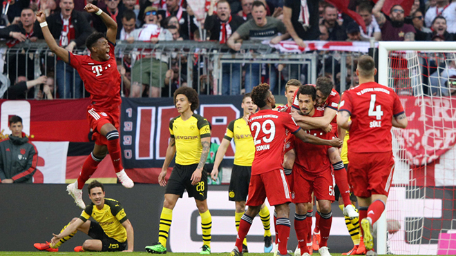 Bayern Munich 5-0 Dortmund: Đại thắng '5 sao', Bayern soán ngôi ngoạn mục