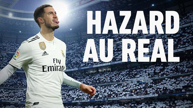NÓNG: Real Madrid đã chiêu mộ được Eden Hazard, ấn định ngày ra mắt