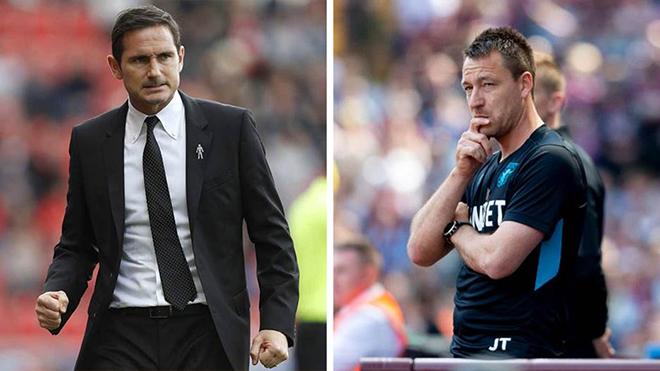 HLV Lampard đối đầu với John Terry ở chung kết thăng hạng Premier League