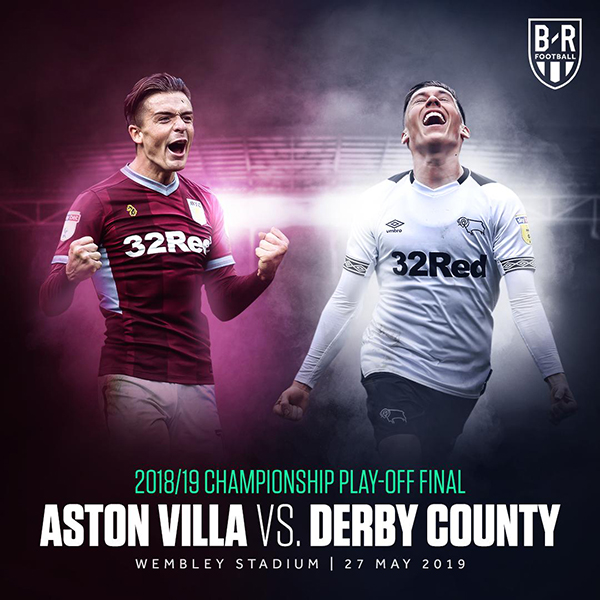 Kết quả Aston Villa vs Derby County, video clip highlights Villa vs Derby, video Villa vs Derby, chung kết play-off thăng hạng Ngoại hạng Anh, ket qua bong da, kqbd, U20