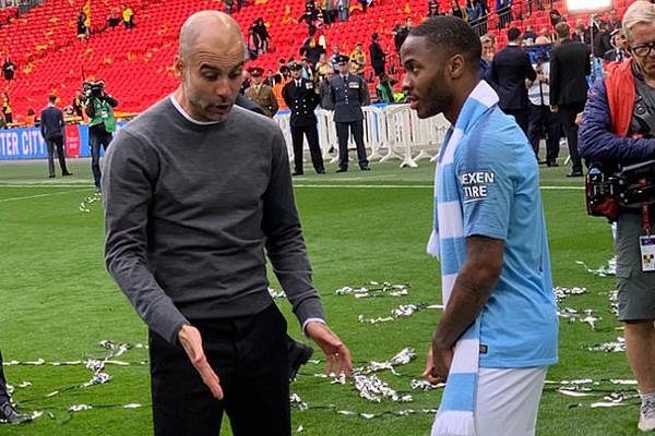 Kết quả Man City vs Watford, video Man City vs Watford, kết quả chung kết cúp FA, Pep dạy dỗ Sterling, Pep giáo huấn Sterling, Sterling hat-trick, Pep Sterling, Man City