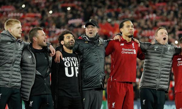 Liverpool, Barca, kết quả Liverpool vs Barca, video Liverpool Barca, Liverpool 4-0 Barca, Liverpool ngược dòng, kết quả bóng đá, kết quả c1, Klopp, Valverde, Cúp C1, kqbd