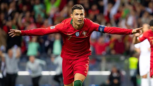 Cristiano Ronaldo, Bồ Đào Nha, Thụy Sĩ, hat-trick, Nations League, kết quả bóng đá, Bồ Đào Nha vs Thụy Sĩ, Bồ Đào Nha đấu với Thụy Sĩ, video Bồ Đào Nha vs Thụy Sĩ