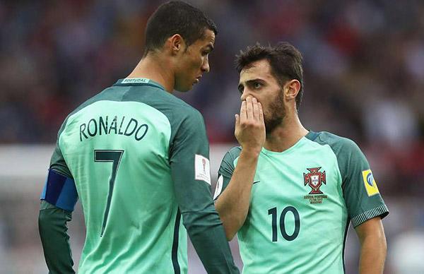 Ronaldo lườm Bernardo Silva, Ronaldo lườm đồng đội, cầu thủ xuất sắc nhất Nations League, Bồ Đào Nha vs Hà Lan, video Bồ Đào Nha 1-0 Hà Lan, chung kết Nations League, CR7