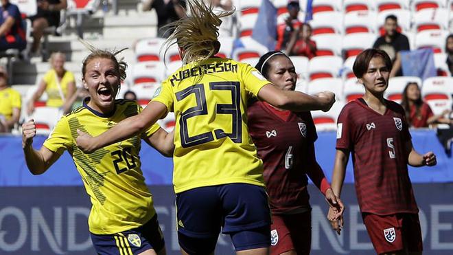 World Cup bóng đá nữ: Thái Lan thua đau Thụy Điển sau thất bại khủng khiếp trước Mỹ