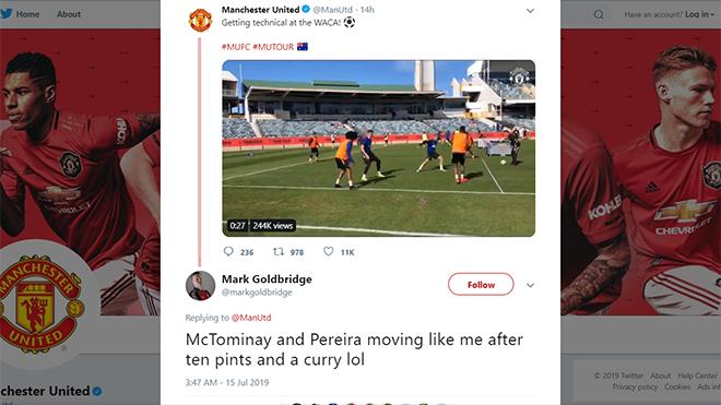 MU, chuyển nhượng MU, M.U, Man United, lịch thi đấu bóng đá hôm nay, chuyển nhượng, MU du đấu mùa hè, MU giao hữu mùa hè, MU du đấu Australia, McTominay, Pereira, Ole
