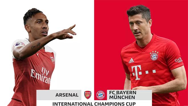 Kết quả bóng đá hôm nay, kết quả Arsenal vs Bayern, ket qua bong da, kết quả bóng đá, Arsenal vs Bayern, kết quả giao hữu, ICC Cup 2019, Cúp C2 châu Âu, kqbd, U19 châu Âu