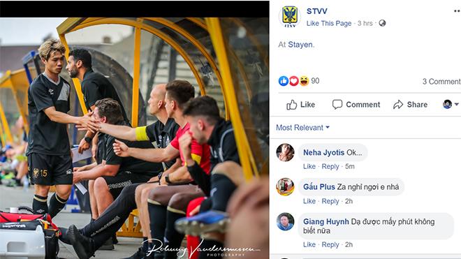 bóng đá Việt Nam hôm nay, lịch thi đấu bóng đá Việt, Sint Truidense, Công Phượng, Nguyễn Công Phượng, HAGL, Công Phượng thua đội hạng hai, Sint Truidense mua Quang Hải