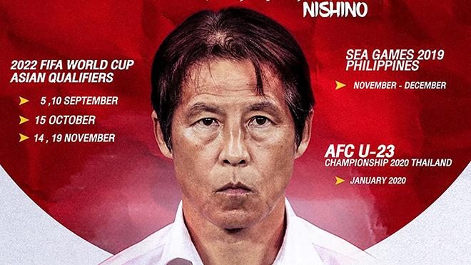 bóng đá Việt Nam, lịch thi đấu bóng đá hôm nay, trực tiếp bóng đá, Việt Nam vs Thái Lan, lịch thi đấu vòng loại World Cup, HLV Thái Lan, Akira Nishino, Park Hang Seo