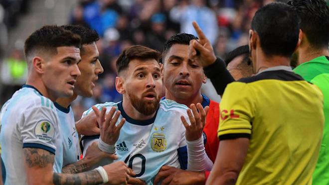 Messi, Leo Messi, Messi bị cấm thi đấu, Messi bị treo giò, CONMEBOL, Lịch thi đấu bóng đá hôm nay, Argentina, Messi chỉ trích, Copa America, Messi chỉ trích CONMEBOL